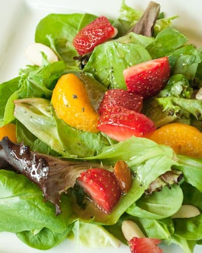 Strawberry and Orange Salad