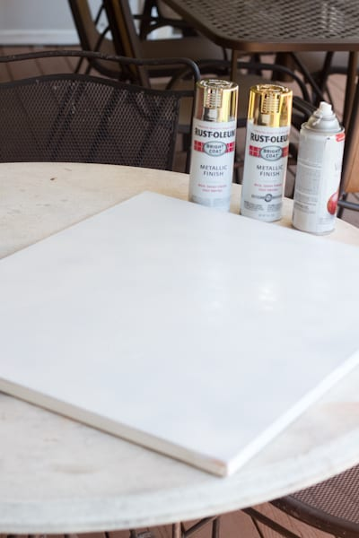 how to create easy and cheap art with spray paint