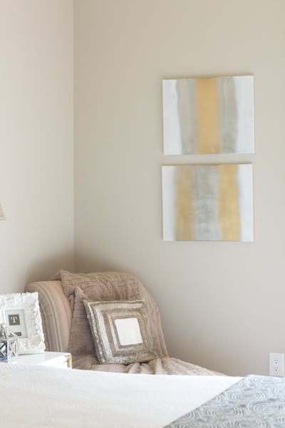 How to create easy and cheap wall art with spray paint