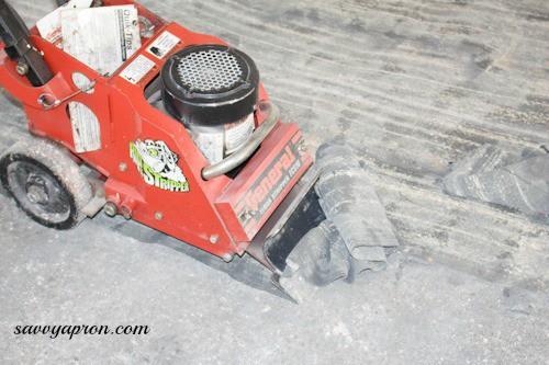 Can T Get Old Carpet Glue Off Concrete Subfloor Doityourself Com