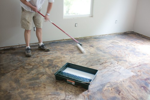 Mopping stained concrete floors meze blog for How to mop concrete floor
