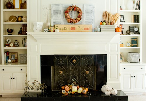 DIY Drawer Knob Pumpkins