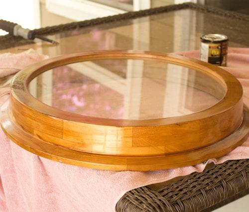 diy clock table