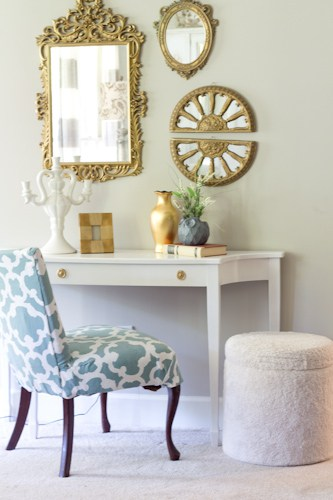 How to Makeover an Ottoman for Under $5