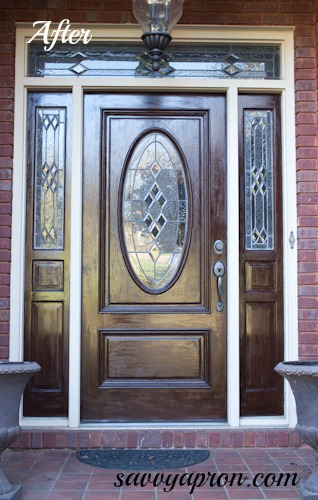 Ordinaire I Stained My Front Door With Gel Stain. It Is So Easy To Do Yourself