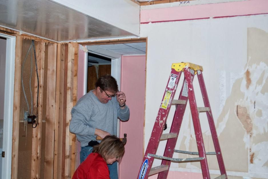 Lake House Remodel Demo