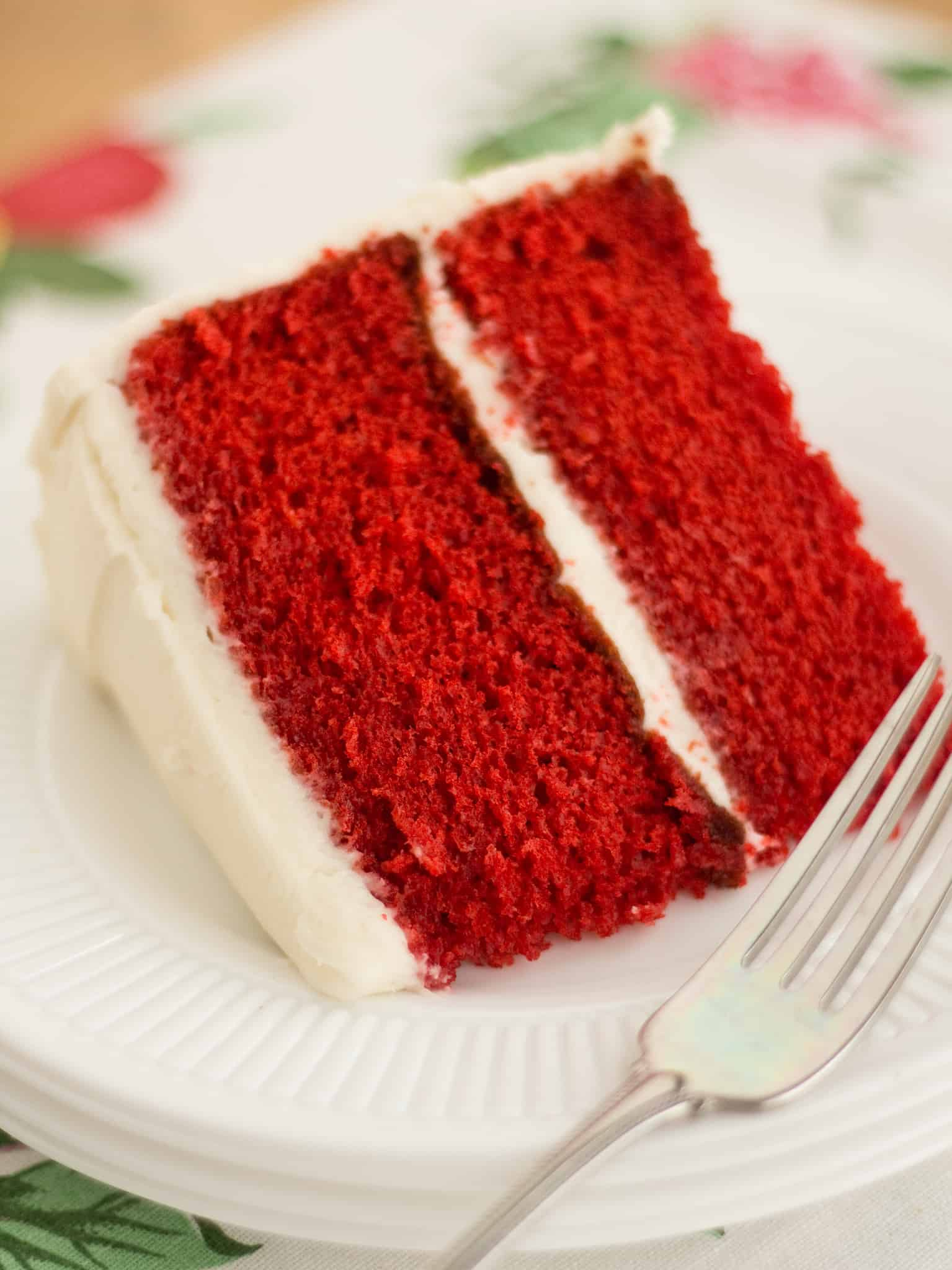 Making A Red Velvet Cake From Mix
