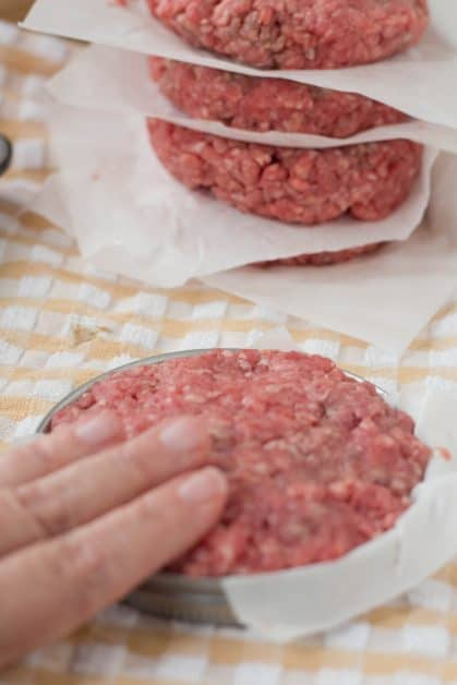 Do you want to know how to make perfect hamburger patties like you get in restaurants? This is how I learned to get perfect patties in Culinary School.