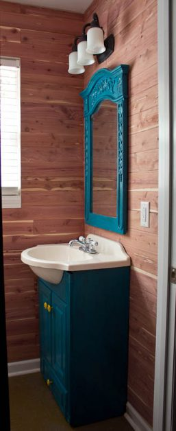 We Installed Cedar Safe Planks To Our Master Closet And Master Bath , And  It Looks