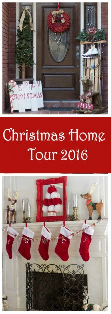 I am sharing my Christmas Home Tour 2016. I love vintage Christmas decor, and the best vintage decorations are usually found at Thrift Stores.