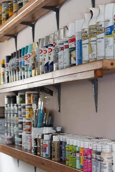 How to Organize Your Crafts Without a Craft Room