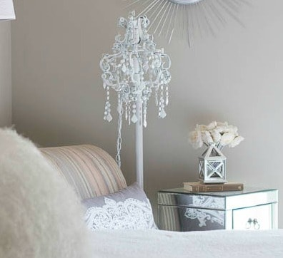 Diy chandelier floor lamp savvy apron aloadofball Image collections