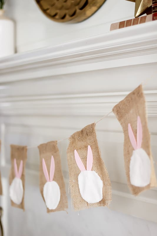 Easter Bunny Garland for your home.