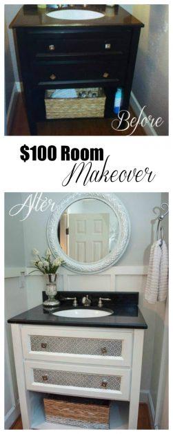$100 Room Makeover Reveal