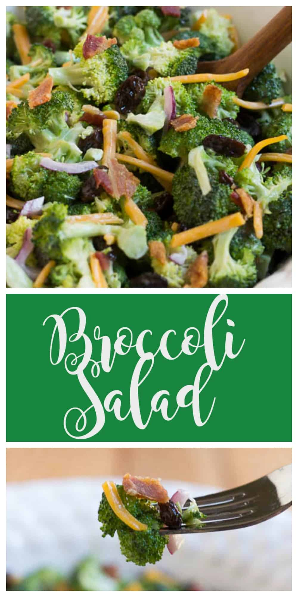 This is the best Broccoli Salad that I have ever had!