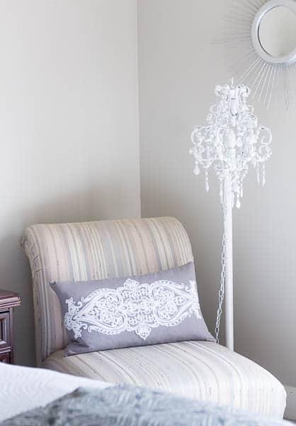 DIY Chandelier Floor Lamp