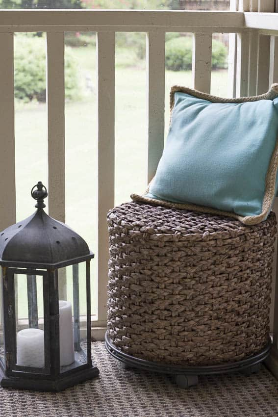 Back Porch Decorating Ideas on a Budget