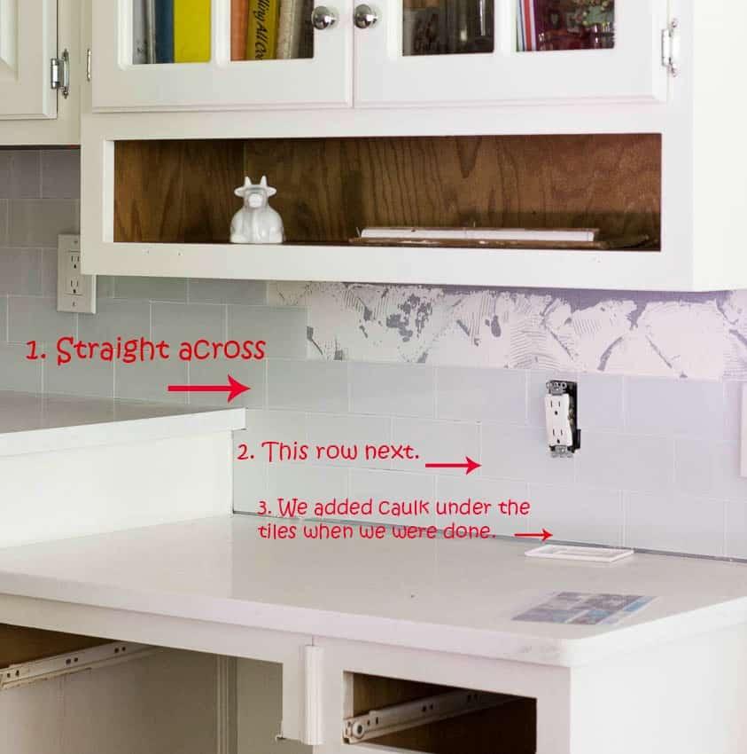 My Diy Peel And Stick Tile Backsplash Installation: DIY Backsplash With Aspect Peel And Stick Tiles