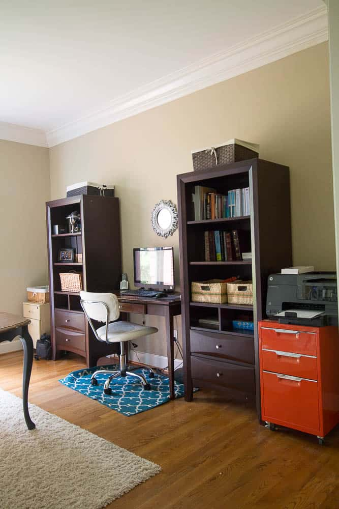 One Room Challenge-Home Office Before