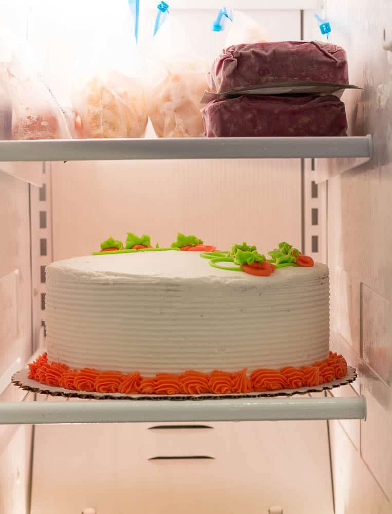 How To Freeze a Frosted Cake