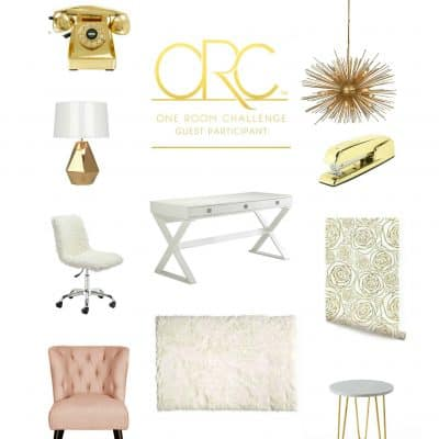 One Room Challenge-Home Office Week 2