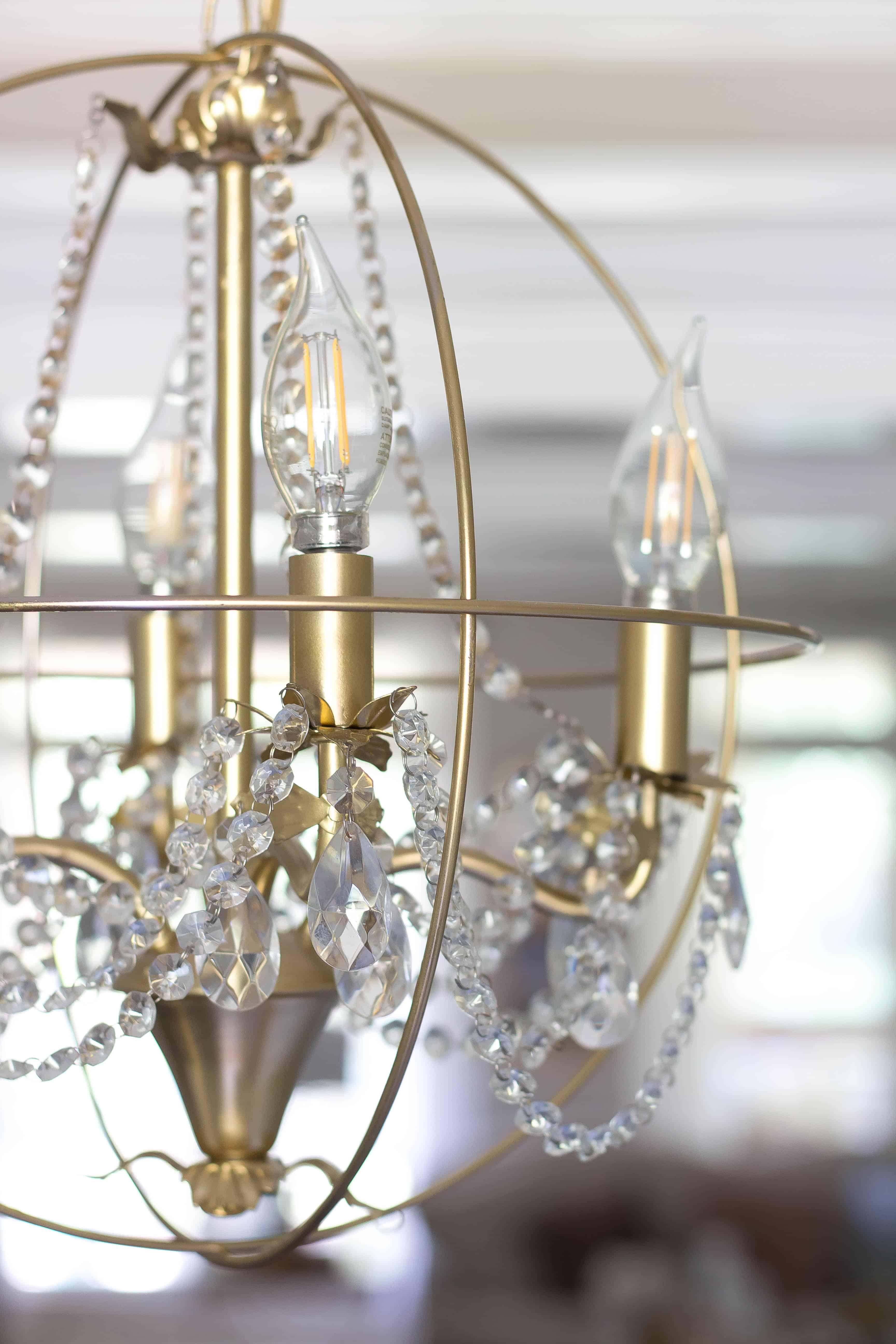 Diy orb chandelier savvy apron aloadofball Images