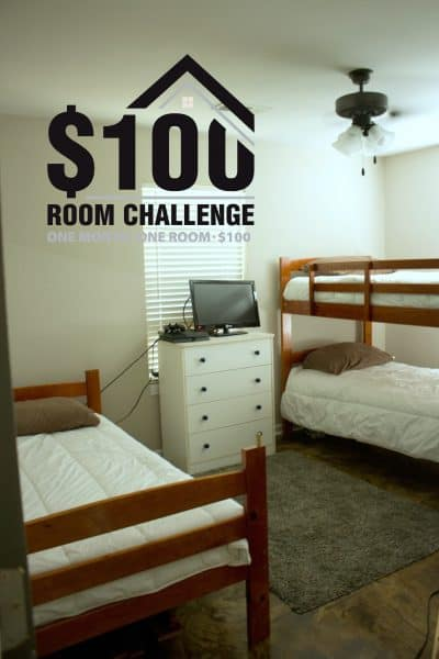 $100 Room Challenge Week One-Before