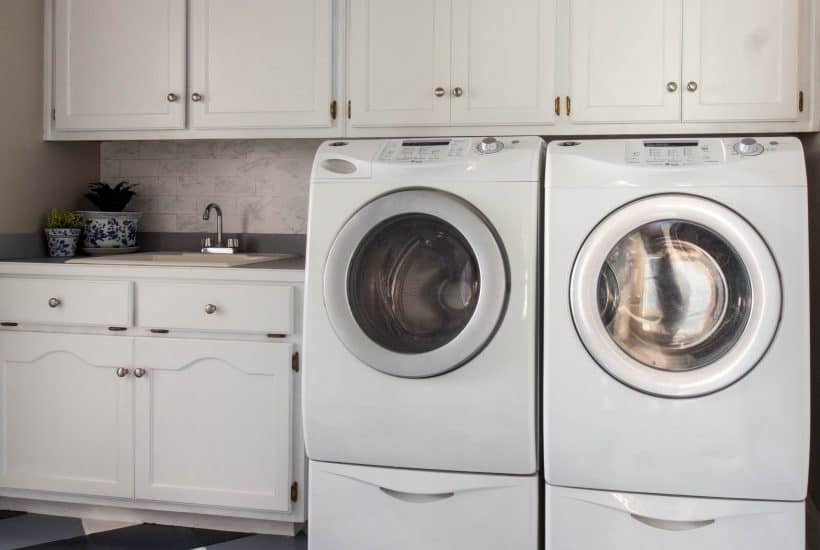 Laundry Room Makeover for under $100.