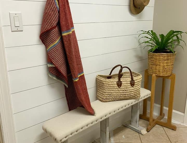 Laundry Shiplap Wall