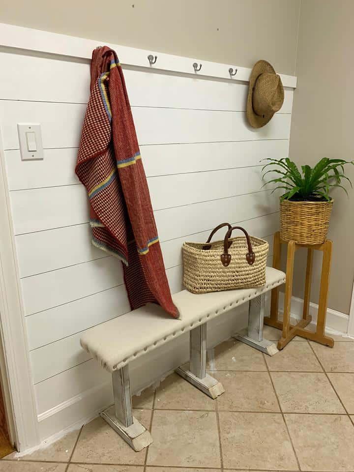 Laundry Shiplap Wall