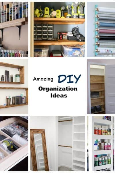 Amazing DIY Organization Ideas
