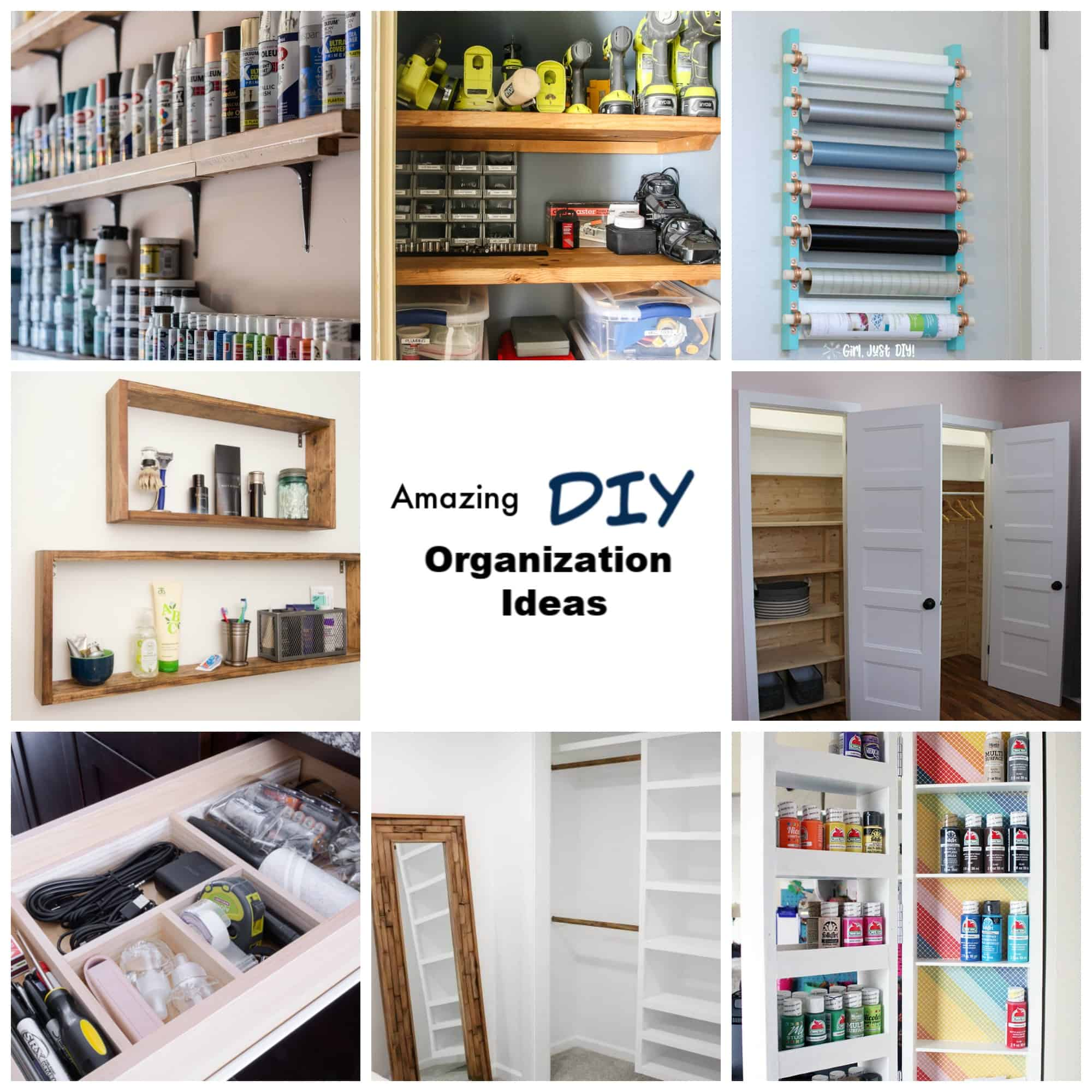 Amazing DIY Organization Ideas that work.