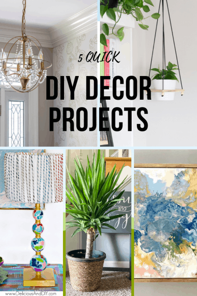 5 Quick DIY Decor Projects to Update Your Home