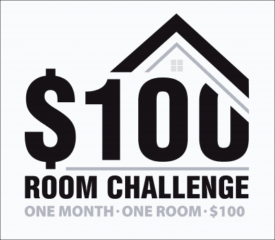 $100 Room Challenge-Boy's Bedroom Week 1