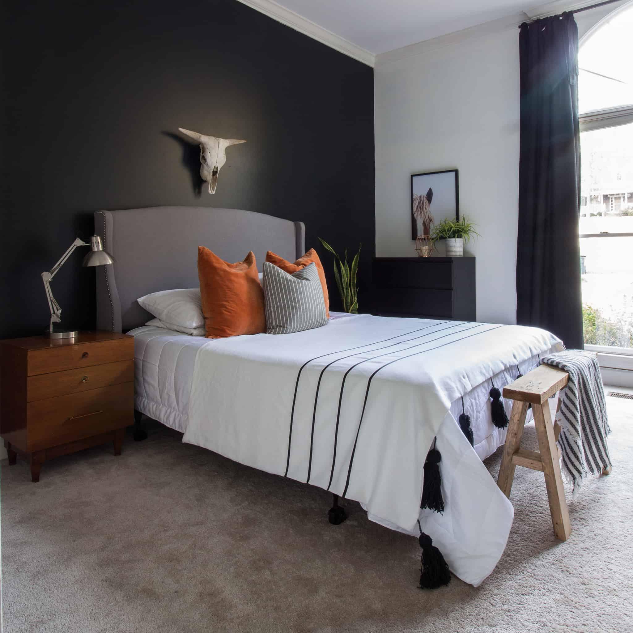 Bedroom Makeover for under $100 for the Room Challenge