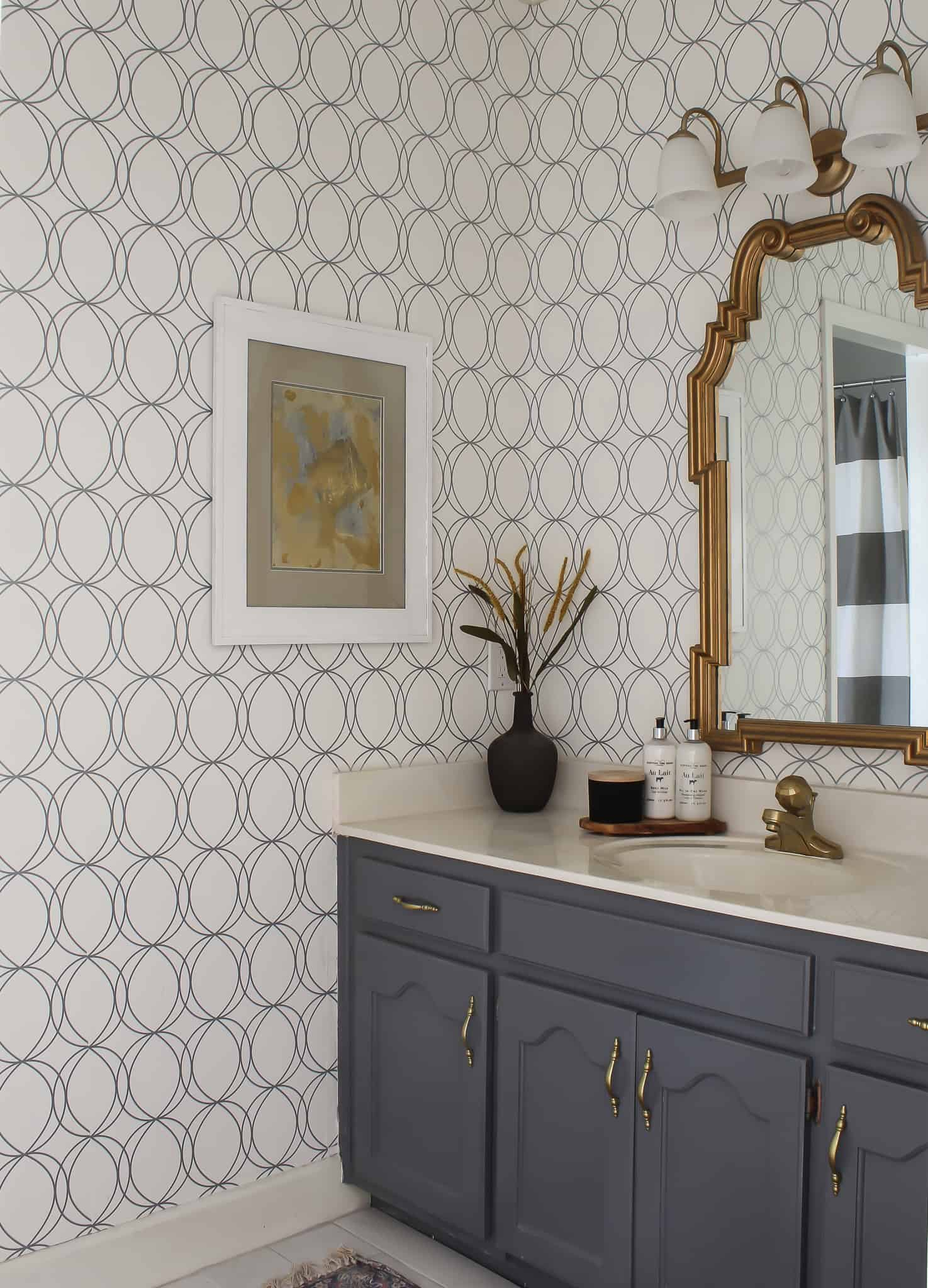 Bathroom Makeover for under $100.