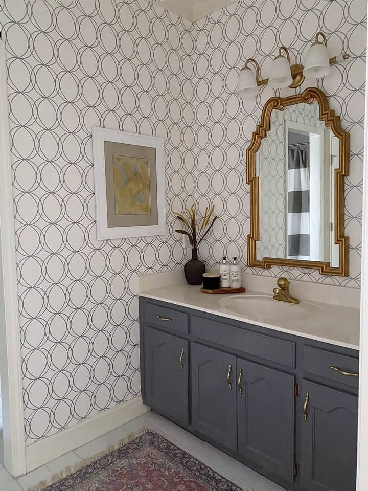 Jack and Jill Bathroom Makeover-Reveal