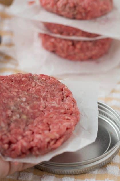 Make and freeze hamburger patties.