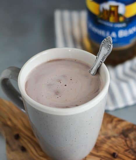 Sugar-free Single Cup Hot Chocolate Recipe taste delicious and can be adjustedmeet your diet.