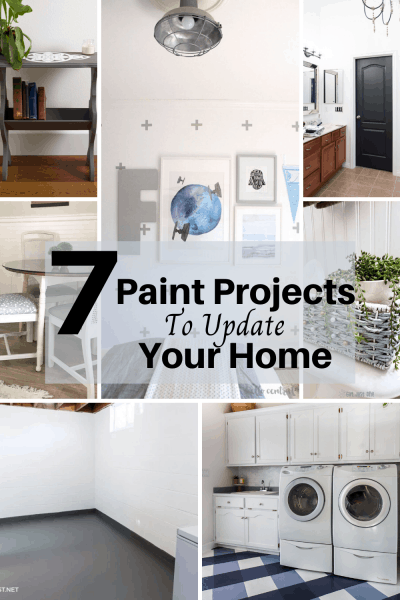 7 paint projects to update your home.