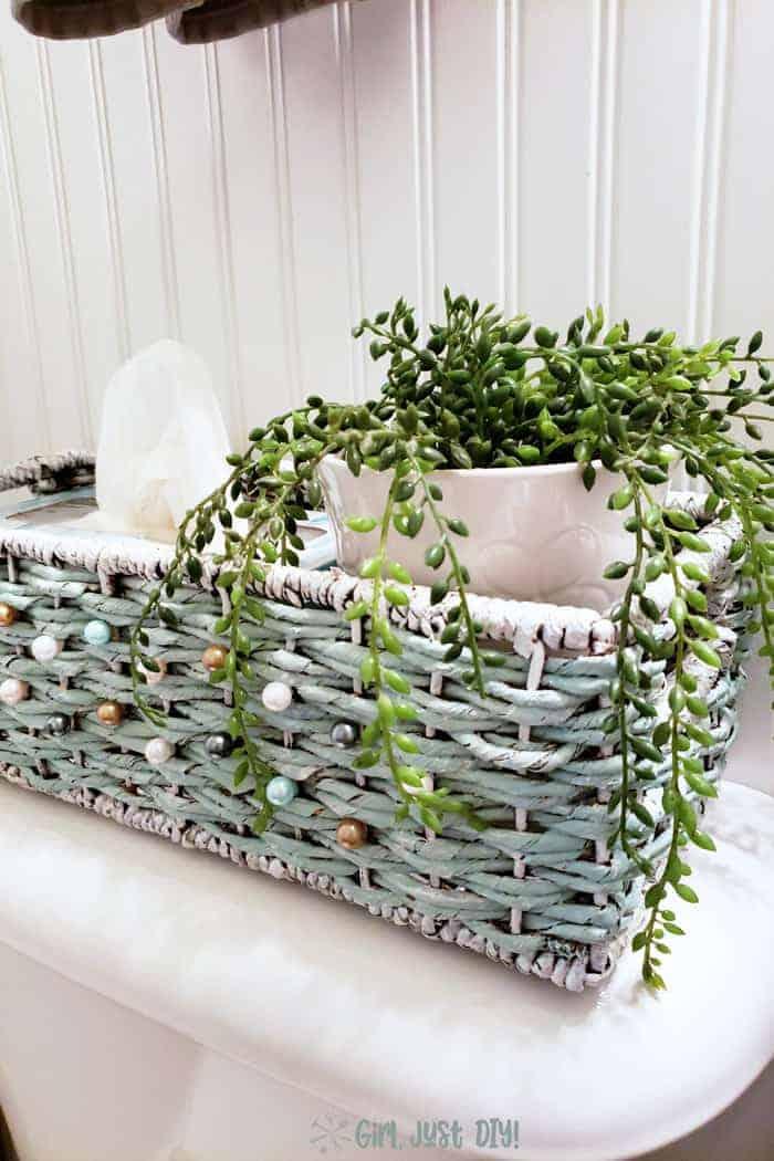 repainted basket