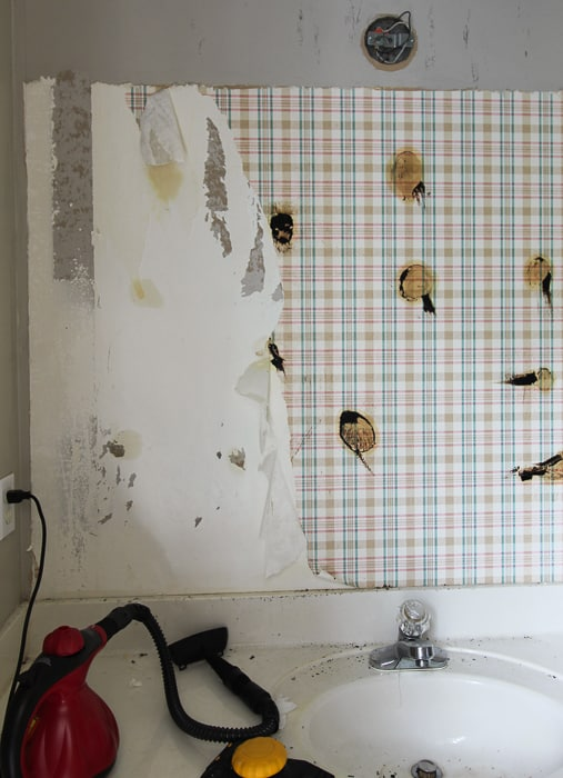Removing the wallpaper