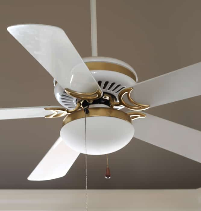 How To Update A Ceiling Fan Without Removing It Savvy Apron