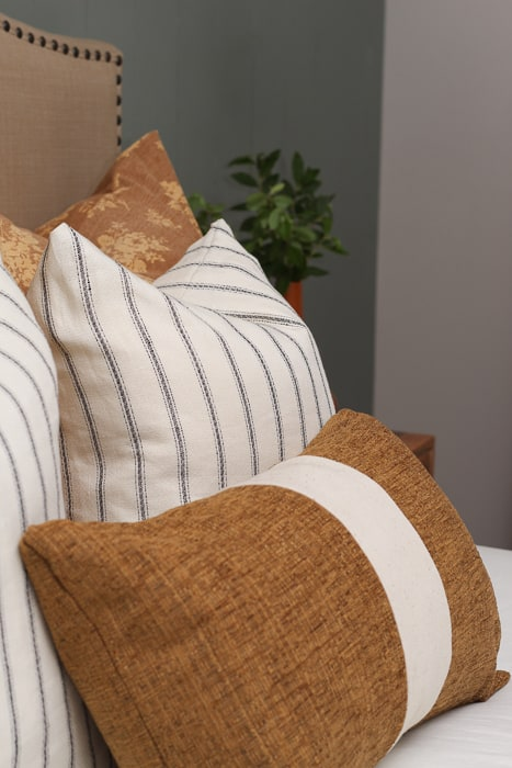Designer inspired pillows.