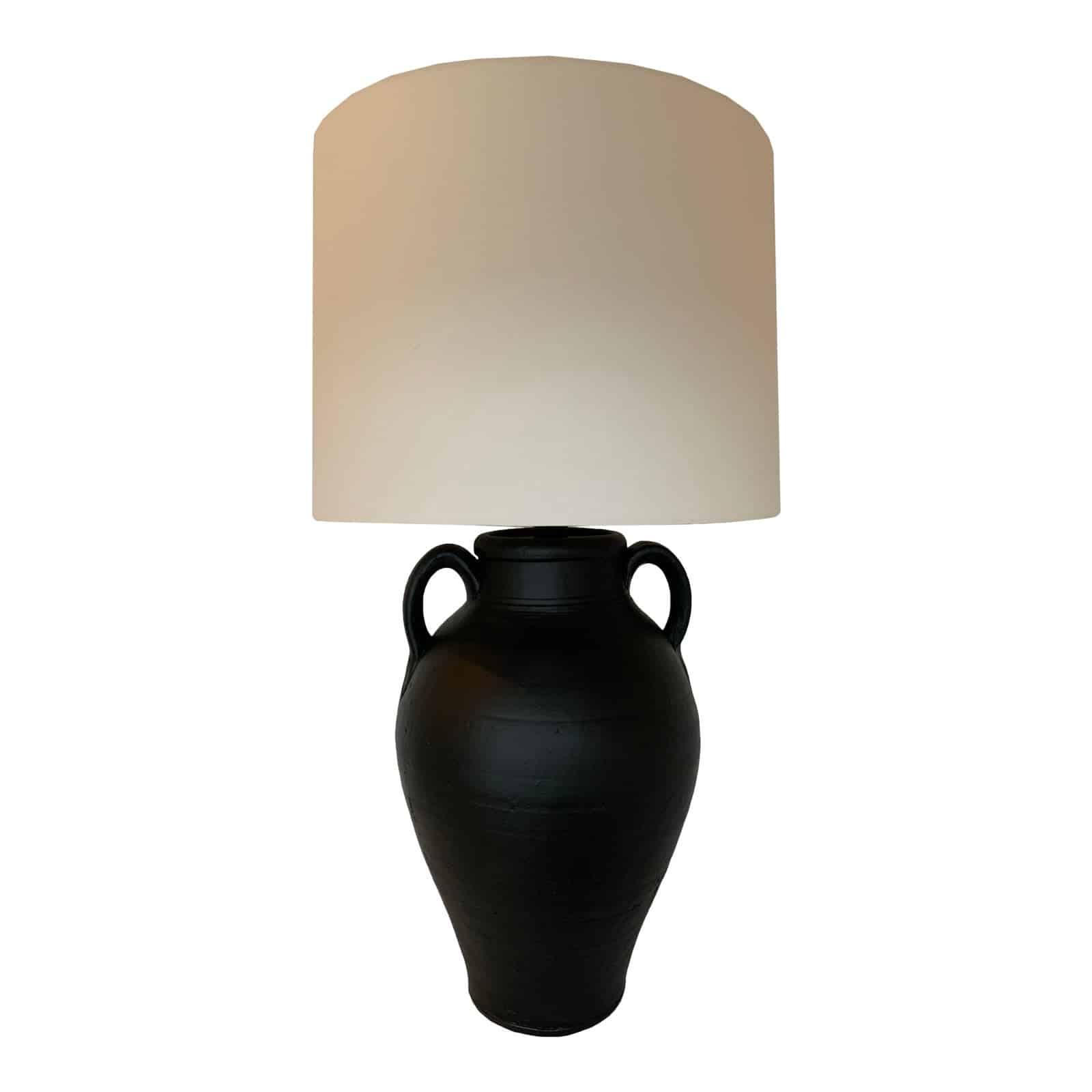 Inspiration black matte jug lamp