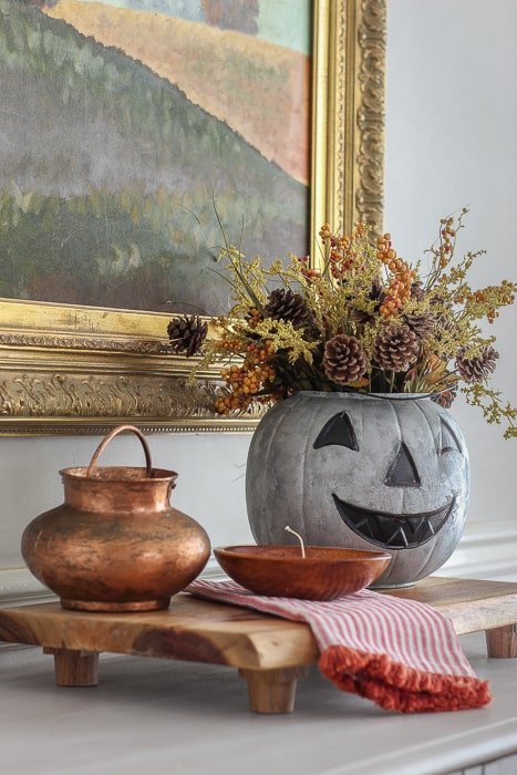 How to make a galvanized pumpkin with paint