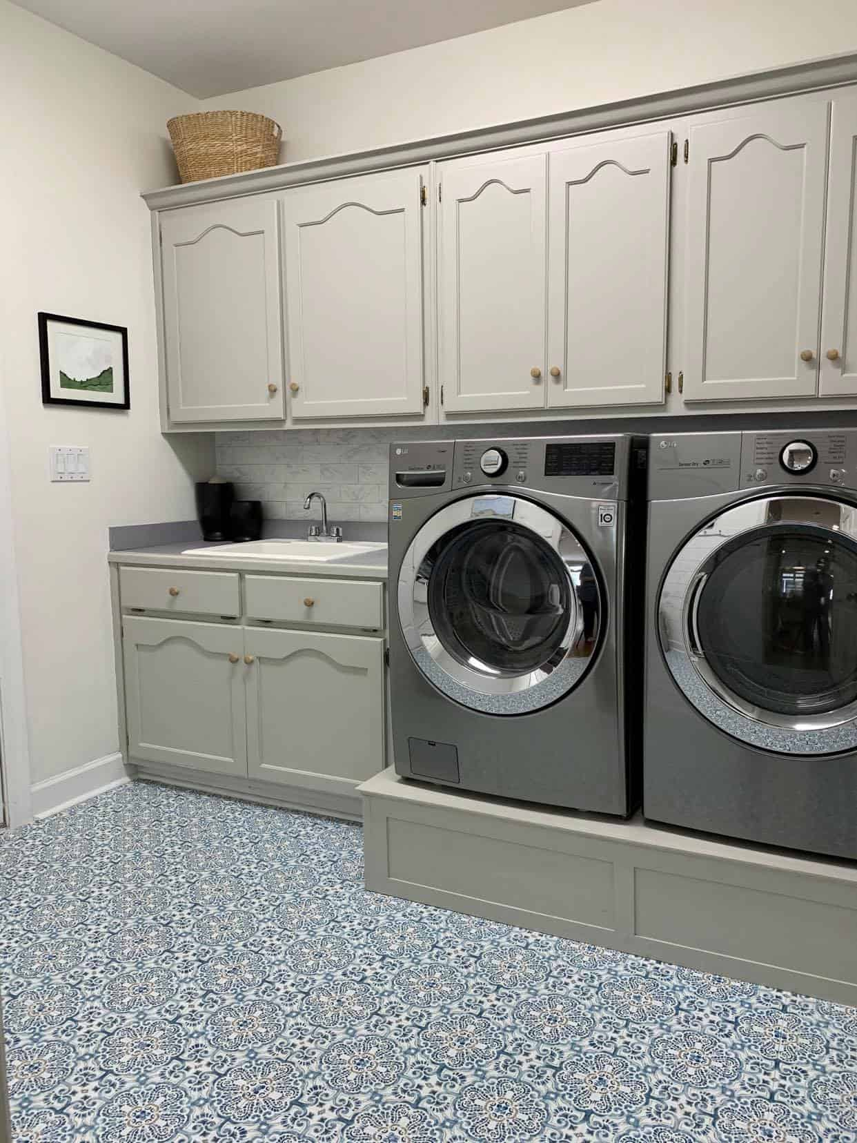Budget-Laundry Room Makeover