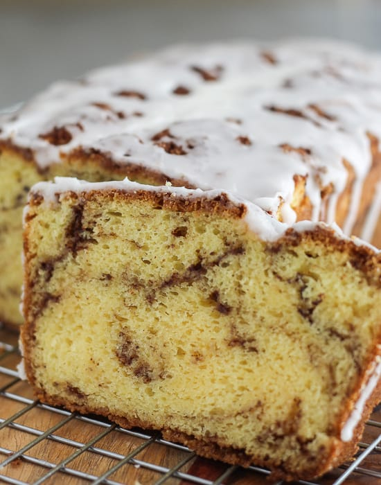 Easy Cinnamon Roll Cake with Cake Mix