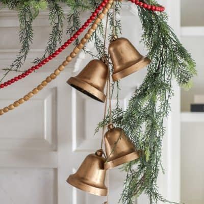 diy hanging bells