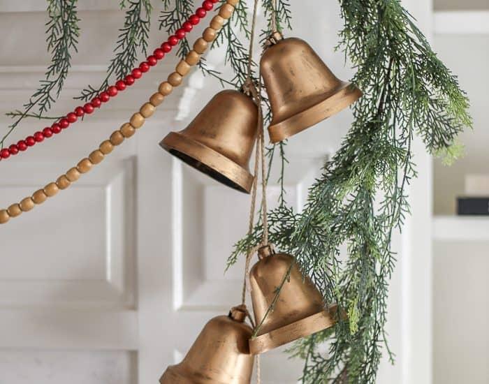 diy hanging bells